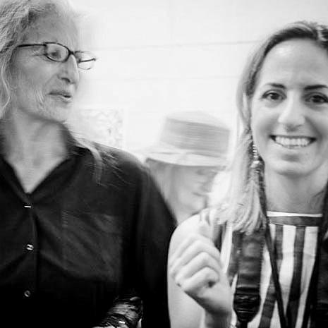 Annie Leibovitz e Marianna Santoni