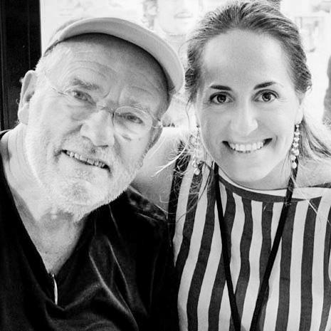 Peter Lindbergh e Marianna Santoni