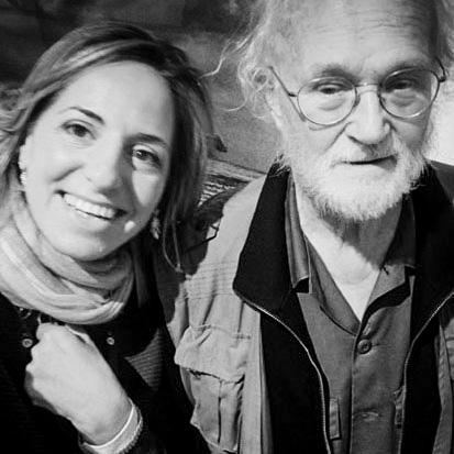 Josef Koudelka e Marianna Santoni