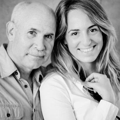 Steve McCurry e Marianna Santoni