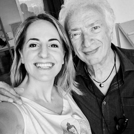 Mario Cresci e Marianna Santoni