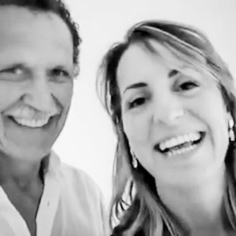 George Tatge e Marianna Santoni