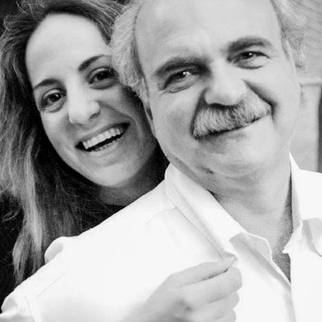 Franco Pagetti e Marianna Santoni