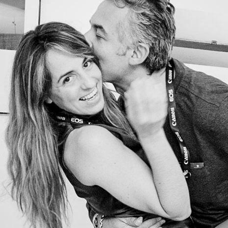 Amedeo Turello e Marianna Santoni