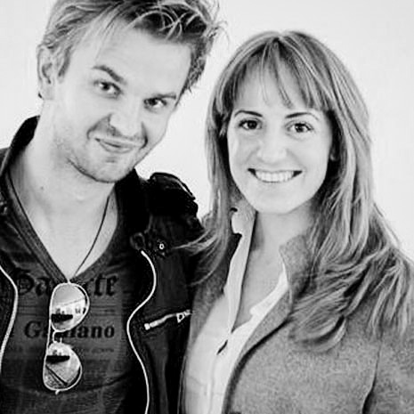 Andrzej Dragan e Marianna Santoni
