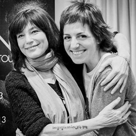 Carrie Beene e Marianna Santoni
