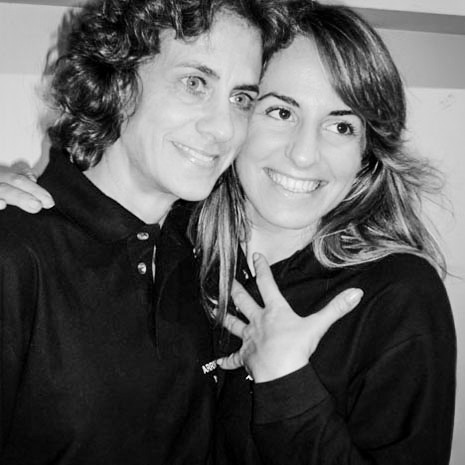 Katrin Eismann e Marianna Santoni