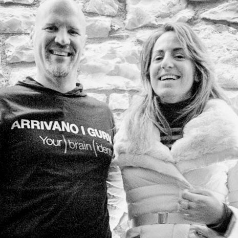 Dave Cross e Marianna Santoni