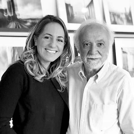 Roberto Polillo e Marianna Santoni