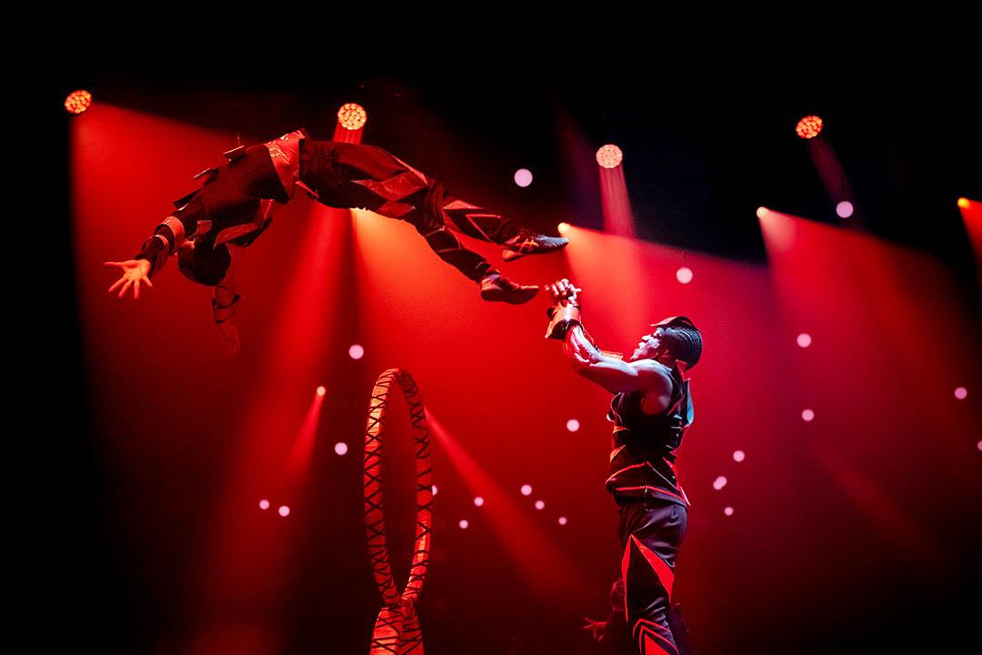 Fotografia alti ISO spettacolo di teatro