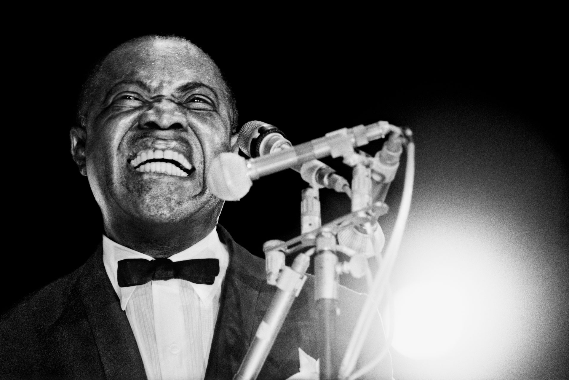 Louis Armstrong by Roberto Polillo